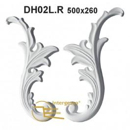 Aplique em Gesso DH02L.R