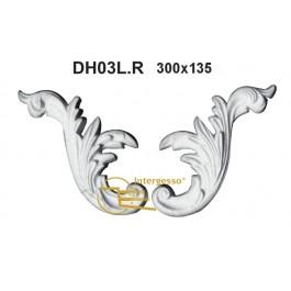 Aplique em Gesso DH03L.R
