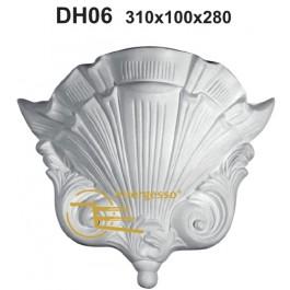 Candeeiro em Gesso DH06
