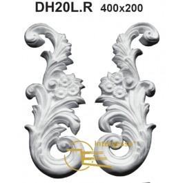 Aplique em Gesso DH20L.R