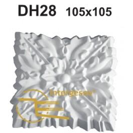 Aplique em Gesso DH28