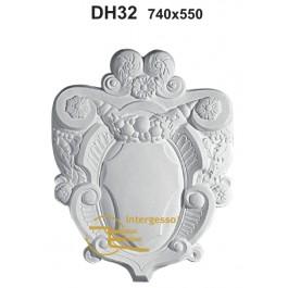 Aplique em Gesso DH32