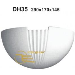 Candeeiro em Gesso DH35