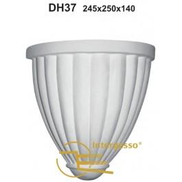 Candeeiro em Gesso DH37