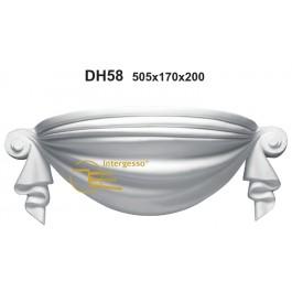 Candeeiro em Gesso DH58