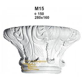 Capitel em Gesso M15