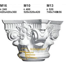 Capitel em Gesso M10