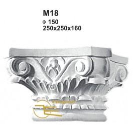 Capitel em Gesso M18