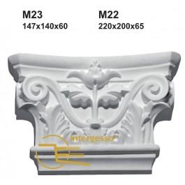 Pilastra em Gesso M22