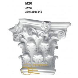 Capitel em Gesso M26