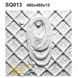 Painel Decorativo em Gesso SQ013