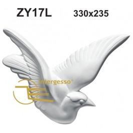 Estatueta Pomba em Gesso ZY17L
