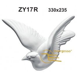 Estatueta Pomba em Gesso ZY17R