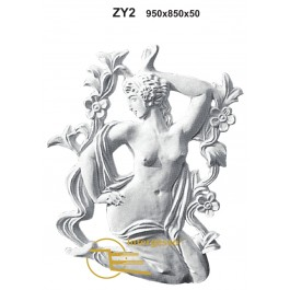 Estatueta Deusa Grega em Gesso ZY2