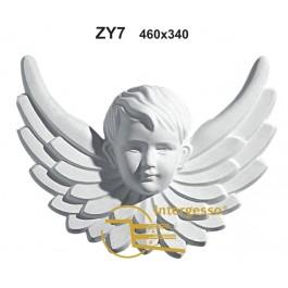Estátua Anjo em Gesso ZY7