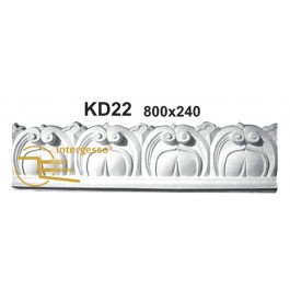 Frontal de Porta em Gesso KD22