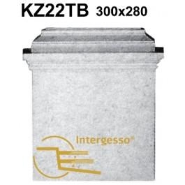 Pilastra em Gesso KZ22TB