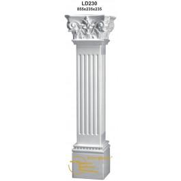 Coluna em Gesso LD230