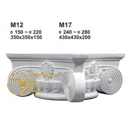 Capitel em Gesso M17