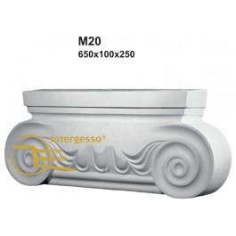 Pilastra em Gesso M20