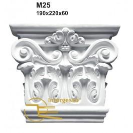 Pilastra em Gesso M25