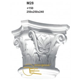 Capitel em Gesso M28