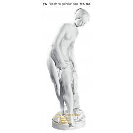 Estátua em Gesso Y6