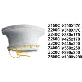 Capitel em Gesso Z240C