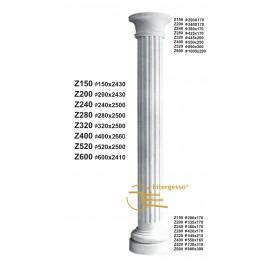 Coluna em gesso Z150