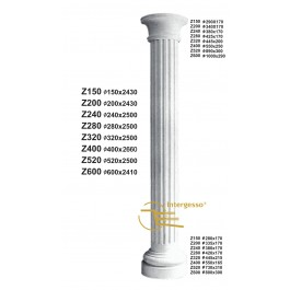 Coluna em Gesso Z320