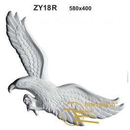 Estatueta Águia em Gesso ZY18R