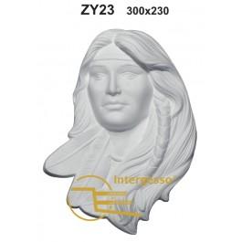 Estatueta Índia Em Gesso ZY23