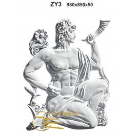 Estatueta Deus Grego em Gesso ZY3