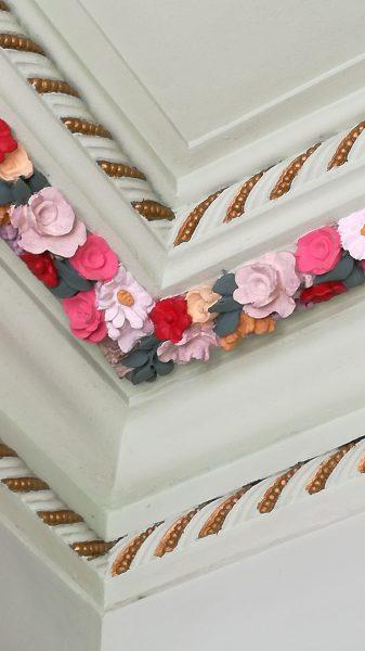 Decoração Friso floral Sec. XX